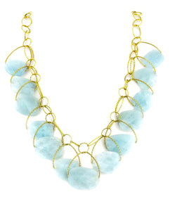 "Aquamarine AAA ""Stunner"" Necklace"