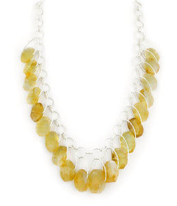"Citrine Multi Stone ""Stunner"" Necklace"