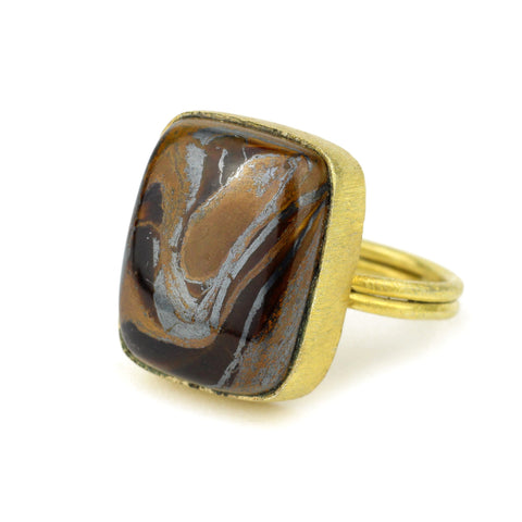 hematite pyrite seraphinite black onyx gemstone jewelry pink blue lace agate boulder opal dendritic Mook Jasper Rainforest ocean gold flake picture bumblebee Agate 10kt Gold Ring Teardrop round oval rectangle square free form opal labradorite