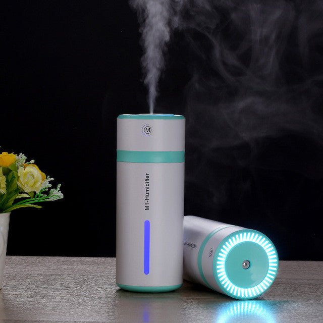 Ultrasonic Humidifier USB Car Humidifier Mini Aroma Essential Oil Diffuser Aromatherapy Mist Maker Home Office