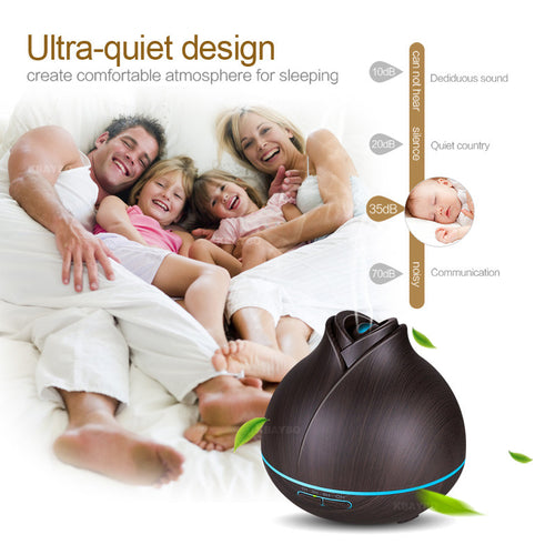 400ml Aroma Essential Oil Diffuser Ultrasonic Air Humidifier