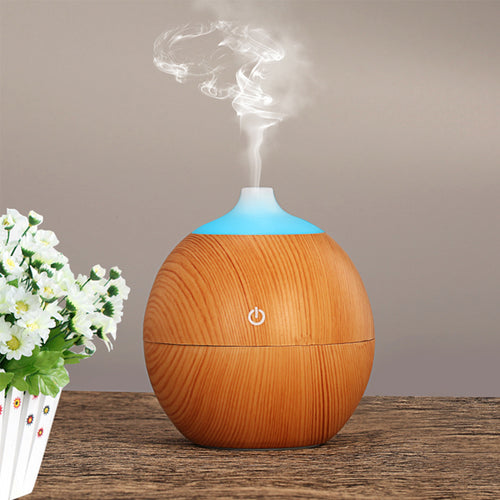 130ml Aroma Diffuser Bamboo Wood
