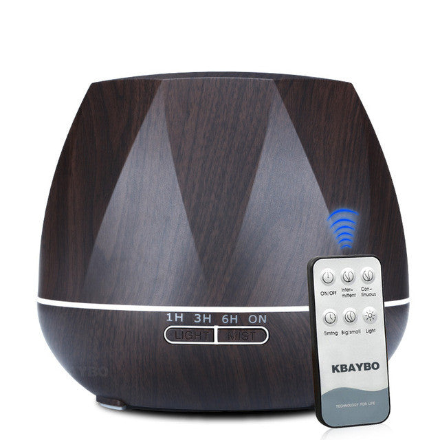 550ml Air Humidifier Essential Oil Diffuser Ultrasonic Cool Mist Humidifier