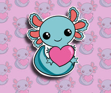 Axolotl Sticker - Single Vinyl Sticker