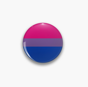 Pride Flag Bisexual Pin Badge