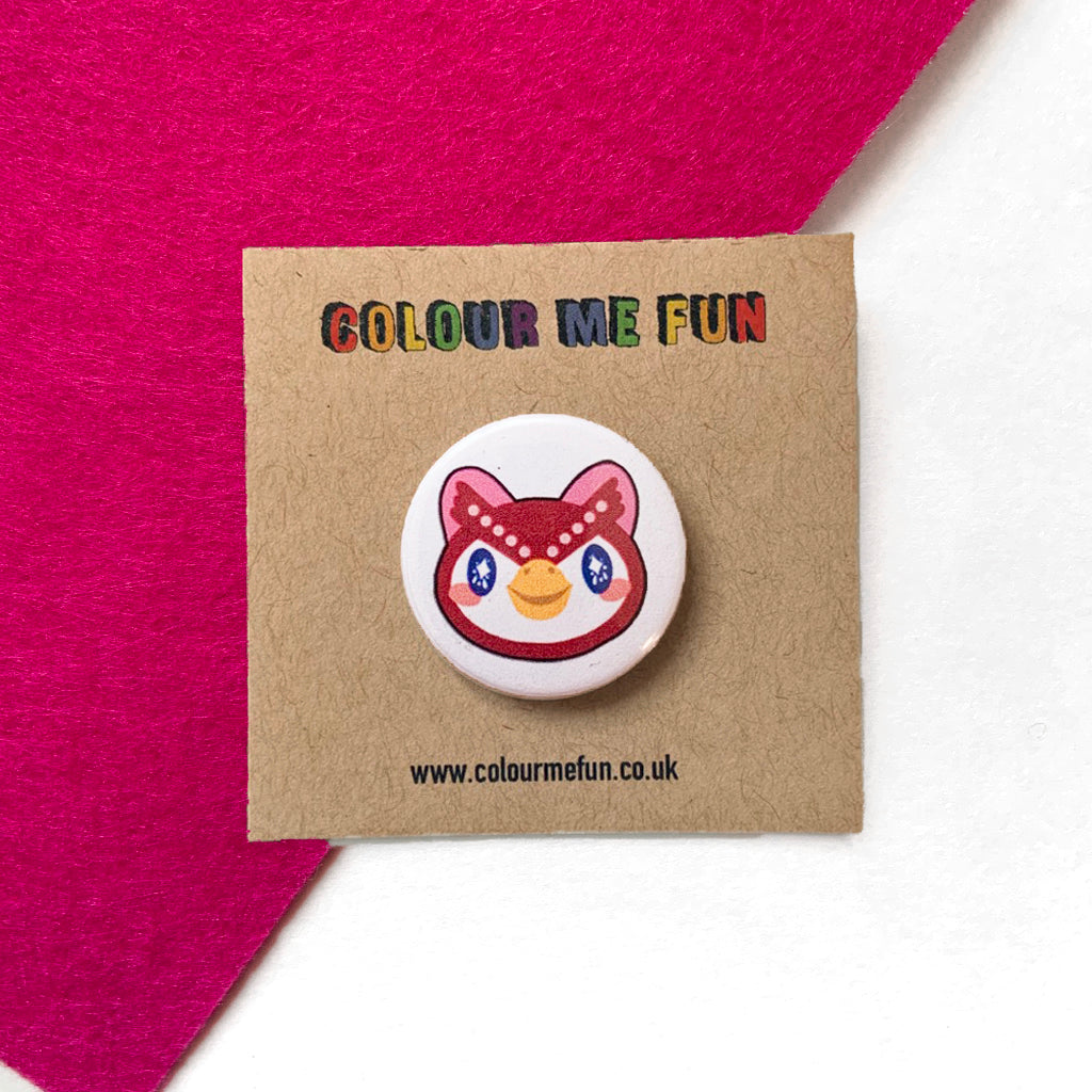 Animal Crossing - Celeste - Button Badge