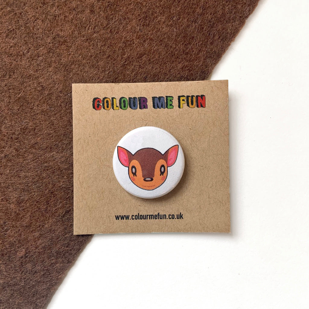Animal Crossing - Fauna - Button Badge