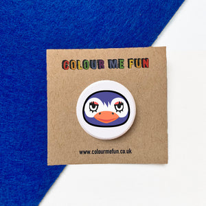 Animal Crossing - Flo - Button Badge
