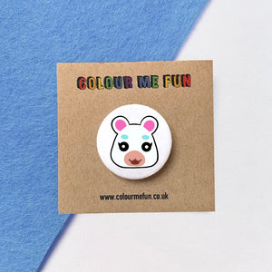 Animal Crossing - Flurry - Button Badge