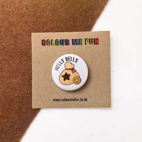 Animal Crossing - Hells Bells - Button Badge