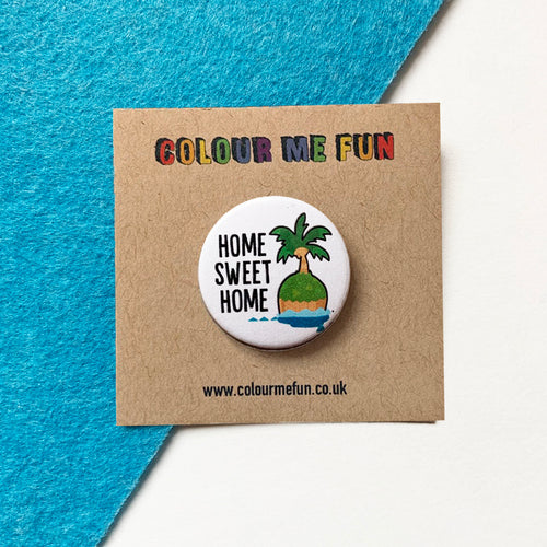 Animal Crossing - Home Sweet Home - Button Badge