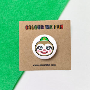 Animal Crossing - Leif - Button Badge