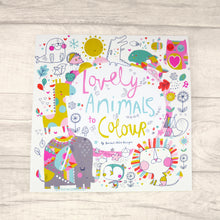 Lovely Animals Colouring Book
