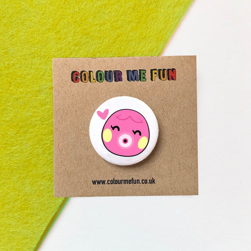 Animal Crossing - Marina - Button Badge