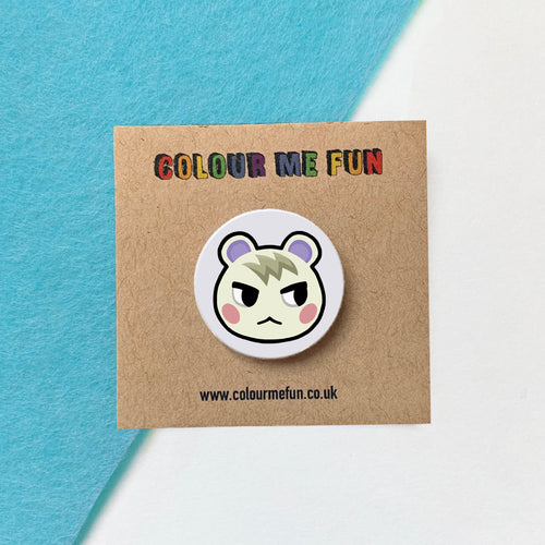 Animal Crossing - Marshal - Button Badge