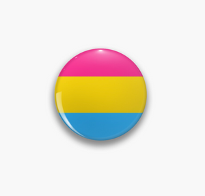 Pride Flag Pansexual Pin Badge