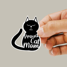 Proud Cat Mum / Proud Cat Mom Sticker - Single Vinyl Sticker