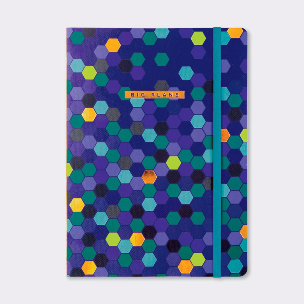 Big Plans A5 Lined Notebook