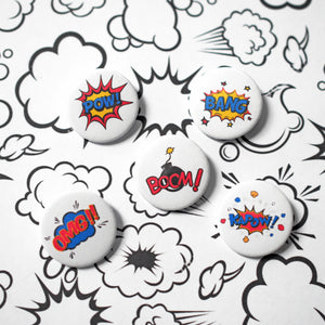 Superhero Badge Set