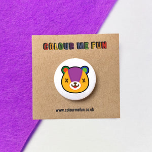 Animal Crossing - Stitches - Button Badge
