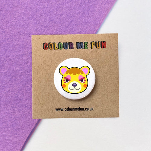Animal Crossing - Tammy - Button Badge