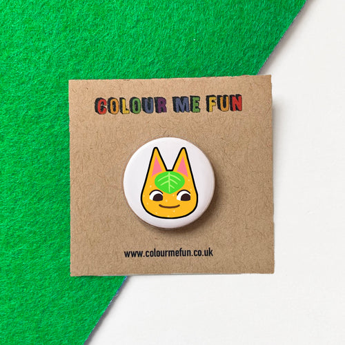 Animal Crossing - Tangy - Button Badge