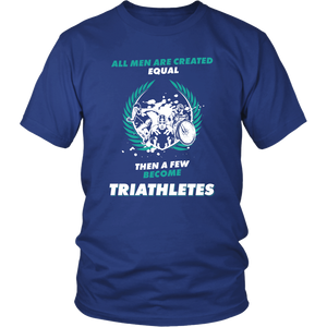 A FEW BECOME TRIATHLETES
