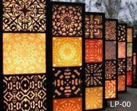 Laser Cut Patterns for Wall and Ceiling – led-superart