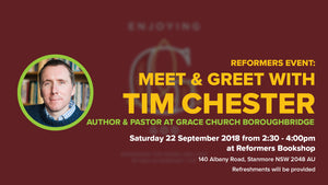 Meet the Author Event: With Tim Chester