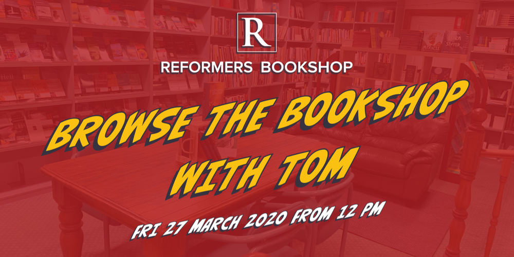 Browse the Bookshop with Tom