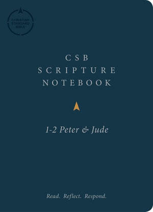 CSB Scripture Notebook, 1-2 Peter and Jude by Bible (9781087722610) Reformers Bookshop