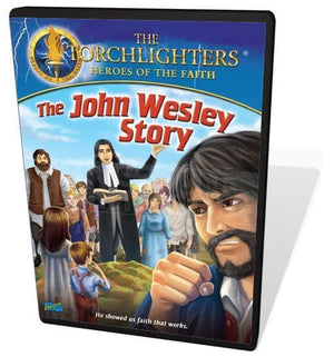 Torchlighters DVD: The John Wesley Story by Voice of the Martyrs (727985015965) Reformers Bookshop