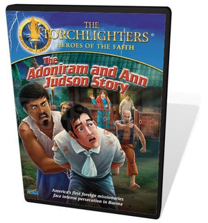 Torchlighters DVD: Adoniram & Ann Judson by Voice of the Martyrs (727985017600) Reformers Bookshop