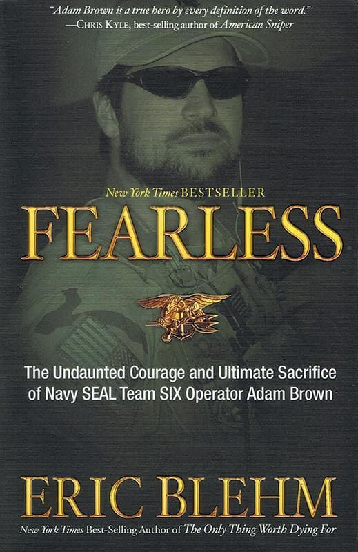9780307730701-Fearless: The Undaunted Courage and Ultimate Sacrifice of Navy SEAL Team SIX OperatorAdam Brown-Blehm, Eric