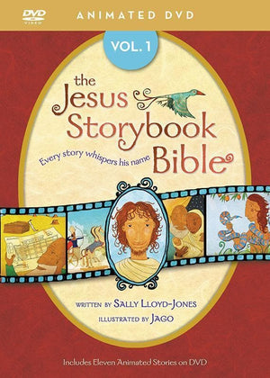 9780310738435-Jesus Storybook Bible Animated DVD Volume 1-Lloyd-Jones, Sally; Jago
