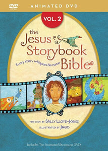 9780310738442-Jesus Storybook Bible Animated DVD Volume 2-Lloyd-Jones, Sally; Jago