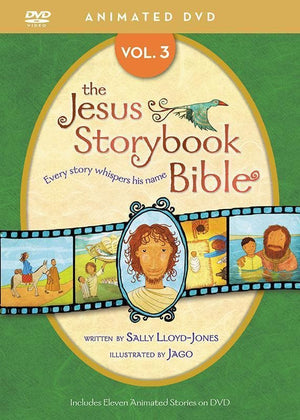 9780310738459-Jesus Storybook Bible Animated DVD Volume 3-Lloyd-Jones, Sally; Jago