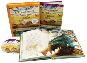 Thoughts to Make Your Heart Sing (Includes Audio) (Deluxe) by Lloyd-Jones, Sally; Jago (9780310747505) Reformers Bookshop