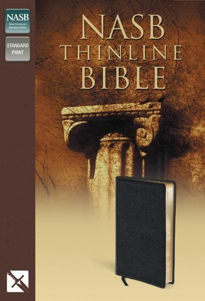 NASB Thinline Bible | Black