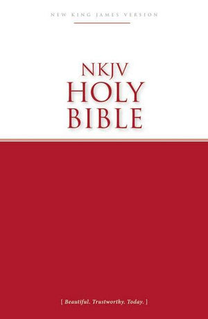 NKJV Economy Outreach Bible (Black Letter Edition) by Bible (9780718091750) Reformers Bookshop