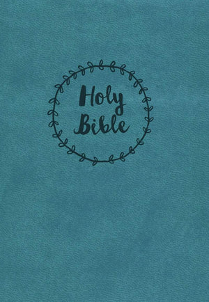 NKJV Compact Reference Bible, Blue Leathersoft by Bible (9780718092177) Reformers Bookshop