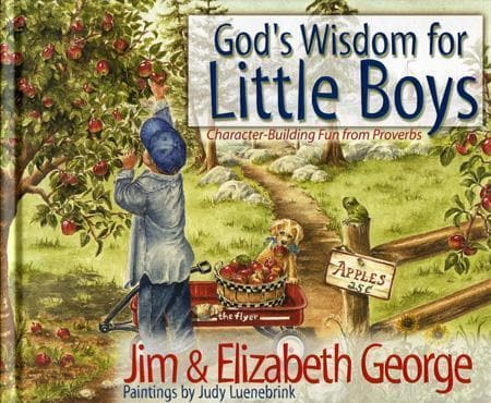 9780736908245-God's Wisdom for Little Boys: Character-Building Fun from Proverbs-George, Jim; George, Elizabeth