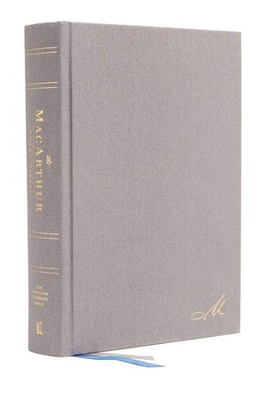 NASB Macarthur Study Bible 2nd Edition Gray by Bible (9780785230304) Reformers Bookshop