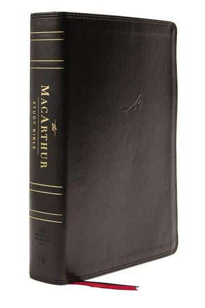 NASB Macarthur Study Bible 2nd Edition Black by Bible (9780785230335) Reformers Bookshop
