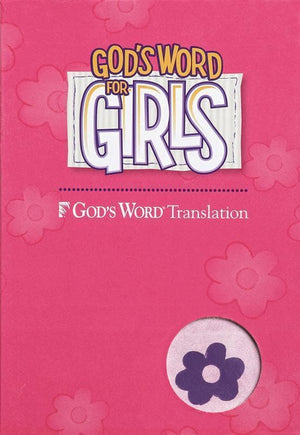 9780801016332-God's Word for Girls Bible - Purple/Pink-