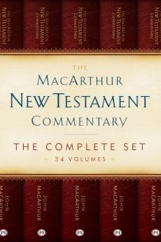 MacArthur New Testament Commentary Set (34 Vols)