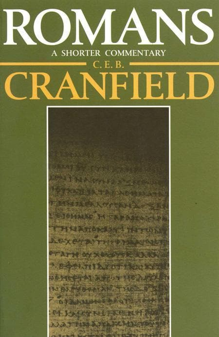 9780802800121-Romans: A Shorter Commentary-Cranfield, C. E. B.