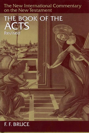 9780802825056-NICNT Book of Acts, The-Bruce, F. F.