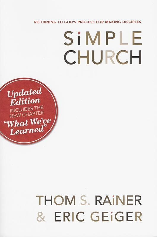 9780805447996-Simple Church:Returning to God's Process for Making Disciples-Rainer, Thom S.; Geiger, Eric