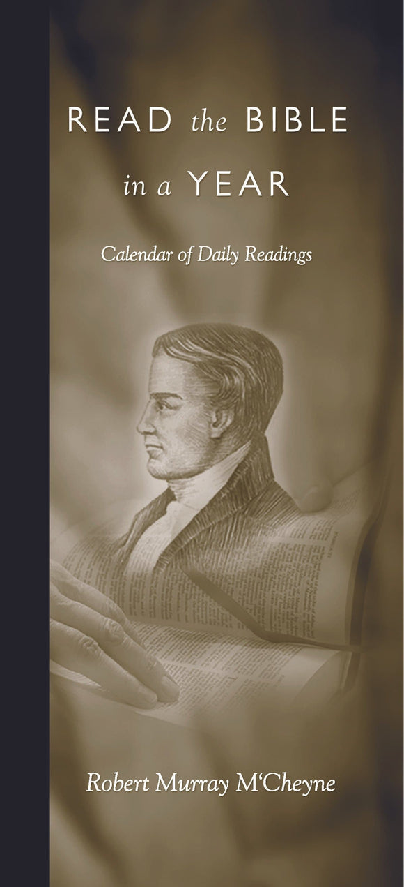 9780851514017-Read the Bible in a Year: Calendar of Daily Readings-M'Cheyne, Robert Murray